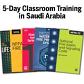 Certified Fire Inspector I (CFI-I) Classroom Training – Saudi Arabia