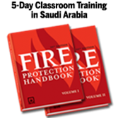 Certified Fire Protection Specialist (CFPS) Primer Classroom Training – Saudi Arabia