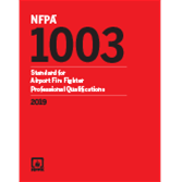 2019 NFPA 1003 Standard - Current Edition