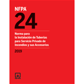 2019 NFPA 24, Spanish - Current Edition