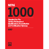 2017 NFPA 1000 Standard - Current Edition