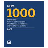 2022 NFPA 1000 Standard - Current Edition