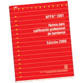 NFPA 1001: Standard for Fire Fighter Professional Qualifications, Spanish