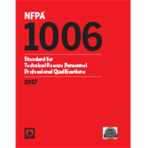 2017 NFPA 1006 Standard - Current Edition