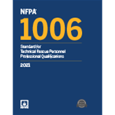 2021 NFPA 1006 Standard - Current Edition
