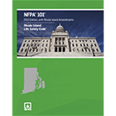 NFPA 101, Life Safety Code with Rhode Island Amendments
