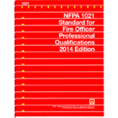 2014 NFPA 1021 Standard - Current Edition