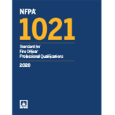 2020 NFPA 1021 Standard - Current Edition