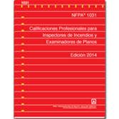 NFPA 1031: Standard for Professional Qualifications for Fire Inspector and Plan Examiner, Spanish