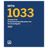 2022 NFPA 1033 Standard - Current Edition