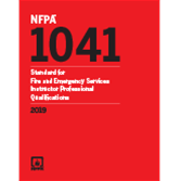 2019 NFPA 1041 Standard - Current Edition