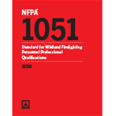 2016 NFPA 1051 Standard  - Current Edition