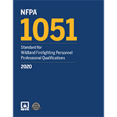 2020 NFPA 1051 Standard  - Current Edition