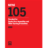 2019 NFPA 105 Standard - Current Edition