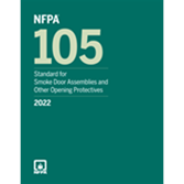 2022 NFPA 105 Standard - Current Edition