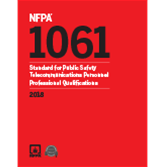 2018 NFPA 1061 Standard - Current Edition