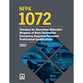 2017 NFPA 1072 Standard - Current Edition
