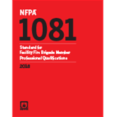 2018 NFPA 1081 Standard - Current Edition