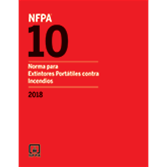 2018 NFPA 10 Standard, Spanish - Current Edition