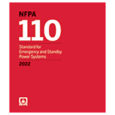 2022 NFPA 110 Standard - Current Edition