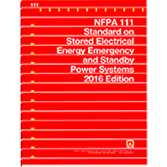 2016 NFPA 111 Standard - Current Edition