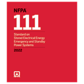 2022 NFPA 111 Standard - Current Edition
