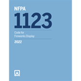 2022 NFPA 1123 Code - Current Edition