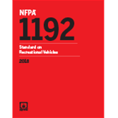 2018 NFPA 1192 Standard - Current Edition