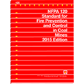 2015 NFPA 120 Standard - Current Edition