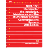 2016 NFPA 1221 Standard - Current Edition