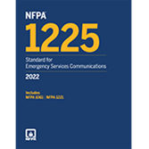 2022 NFPA 1225 Standard - Current Edition