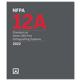 2022 NFPA 12A Standard - Current Edition