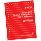 NFPA 12: Standard on Carbon Dioxide Extinguishing Systems, Spanish