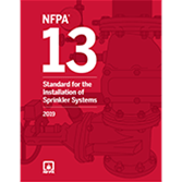 2019 NFPA 13 Standard - Current Edition
