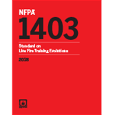 2018 NFPA 1403 Standard - Current Edition