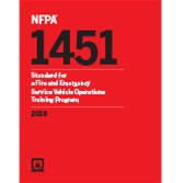 2018 NFPA 1451 Standard - Current Edition