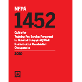 2020 NFPA 1452 Standard - Current Edition