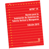 NFPA 14: Standard for the Installation of Standpipe and Hose Systems, Spanish