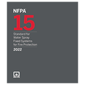 2022 NFPA 15 Standard - Current Edition