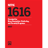 2017 NFPA 1616 Standard - Current Edition