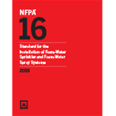 2019 NFPA 16 Standard - Current Edition
