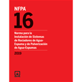 2019 NFPA 16, Spanish - Current Edition