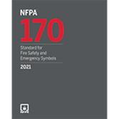 2021 NFPA 170 Standard - Current Edition