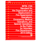 NFPA 1720: Standard for the Organization and Deployment of Fire Suppression Operations, Emergency Me