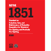 2020 NFPA 1851 Standard - Current Edition