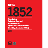 2019 NFPA 1852 Standard - Current Edition