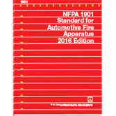 2016 NFPA 1901 Standard - Current Edition