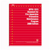 2000 NFPA 1915 Standard - Current Edition