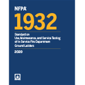 2020 NFPA 1932 Standard - Current Edition