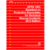 2013 NFPA 1951 Standard - Current Edition
